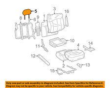 hummer gm oem 03-05 h2 front seat-headrest head rest 88940654