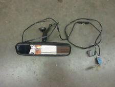 Ford Mustang Convertible Rear View Mirror Factory OEM with harness 87 89 90 93