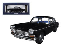 1/18 Norev 1967 Peugeot 404 Coupe Black Diecast Model Car Black 184778