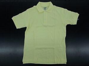 Boys French Toast Uniform/Casual Yellow Soft Polo Shirt Husky & Reg Sz 10H-20H