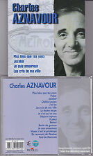 CD 16T CHARLES AZNAVOUR PLUS BLEU QUE TES YEUX BEST OF 2003 FIFTY FIVE RECORDS