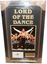 Michael Flatley SIGNED AUTOGRAPH Lord of The Dance AFTAL UACC RD