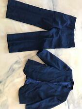 Mens Stripe Suit Size S 40  Waist 36 Inseam 27