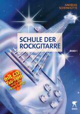 Andreas Scheinhütte Schule der Rockgitarre Band 1 Noten Tab mit CD