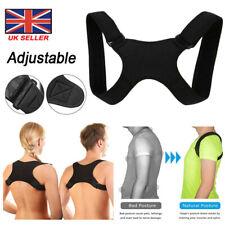 Adjustable Posture Corrector Back Shoulder Belt Support Body Brace Back Unisex