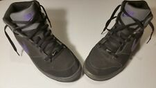Nike Prestige IV High Size 10 Basketball Shoes No Box 584614-050 Black Purple 4