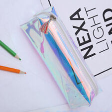 Rainbow Flash Laser Holographic Purse Pencil Stationery Bag Makeup Cases Wallet