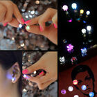Lot LED Light Up Earrings Change Color Ear Studs Halloween Xmas Party Accessory