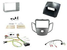 Connects2 Ford Fiesta Mk7 2010-2012 Double Din Stereo Fitting Kit Graphite/Grey