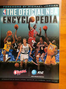 THE OFFICIAL NBA ENCYCLOPEDIA** FREE SHIP**David J. Stern, 3rd Ed.**Rare*Great!