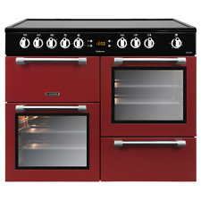 Leisure CK100C210R 100cm Electric Range Cooker - Red