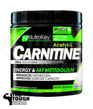 NUTRAKEY ACETYL L-CARNITINE 500 SERVINGS - ENERGY & FAT METABOLISM - WEIGHT LOSS