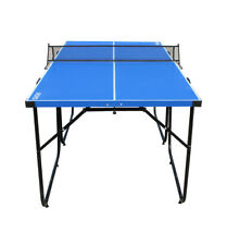 6FT  Ping Pong Table Folding Table Tennis  with Accessories Portable Game