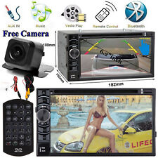For Jeep Wrangler Compass Patriot Car CD DVD Radio Bluetooth Stereo+Rear Camera