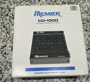 Pioneer Premier CD-1000 Electronic Crossover network