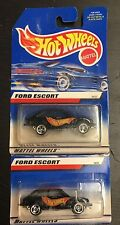 LEO TOYS Hot Wheels FORD ESCORT Mattel India RARE 2 DIFFERENT WHEELS Rare PAINT