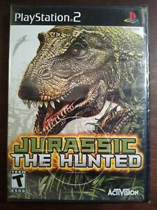 Jurassic: The Hunted (Sony PS2 Game, 2009) Brand New Sealed Mint Fast Shipping