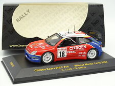 Ixo 1/43 - Citroen Xsara WRC Loeb Winner Monte Carlo Rally 2003