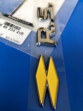 LOGO RS RENAULT SPORT CLIO 4 MEGANE GT ORIGINAL BADGE 908923441R