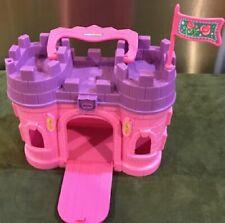 Little People Cinderella Coach & pink Castle!...