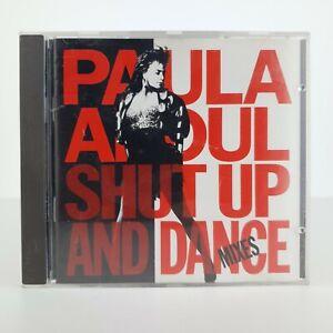 🎵 PAULA ABDUL - SHUT UP AND DANCE - CD SEHR GUT 💿 MUSIK ALBUM