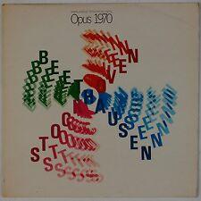 STOCKHAUSEN: Opus 1970 DGG 139461 UK Press  '70 Orig Avant Garde Classical LP