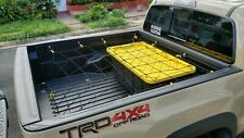 "Cargo Net Bed Tie Down Hooks for TOYOTA TACOMA Mid Size Long Bed 60"" x 98"" New"