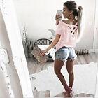 Mujer Jersey Camiseta manga larga Casual Verano sólido Suéter Camisa Blusa