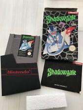 Shadowgate complet Nintendo NES  FRA