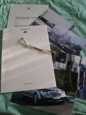 Maybach Press Release brochure 2003 German text