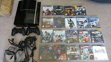 PS3 40GB Black Console Bargain Bundle (PlayStation 3)