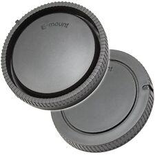 Objektivdeckel / Rückdeckel Gehäusedeckel GreenL kompatibel mit Sony NEX 3 5 7