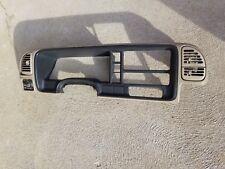 1995 1998 Chevy Gmc Silverado Sierra Tan Dash Trim Bezel Oem 96 97 Instrument