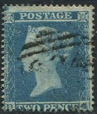 SG20, 2d PALE BLUE, WMK SMALL CROWN, PERF 16, GOOD/FINE USED