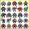 Marvel Avengers BIG Minifigures Iron Man Mark Batman Hulk Super Heroes Toy NEW