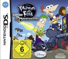 Nintendo DS DSi XL Phineas und Ferb Quer durch die 2te Dimension Neuwertig