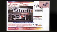 AYRTON SENNA F1 WORLD CHAMPION COVER, McLAREN