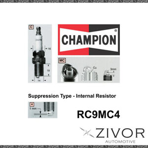 Promising Quality Champion Spark Plug-Set of 2 For MAZDA MPN-RC9MC4 *By Zivor*