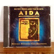 Elton John Tim Rice Aida Original Broadway Cast Album CD 2000 Buena Vista M-