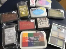 ASSORTED INK STAMP PADS X11 IN TOTAL