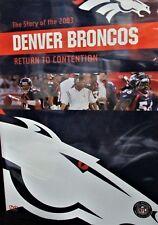 NFL Team Highlights 2003-4 - The Denver Broncos NEW! DVD, JAKE PLUMMER, FOOTBALL