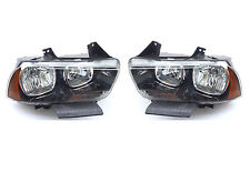 DODGE CHARGER 2011-2014 FRONT HEADLIGHT LEFT+ RIGHT one Set USA DOT SAE