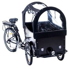 New Danish Electric Cargo Family Bicycle Bakfiets Box Bike Trike e-assist e-bike