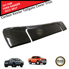 Carbon Kevlar Tailgate Cover Trim FORD RANGER PICKUP MK2 T6 WILDTRAK 2012-2017