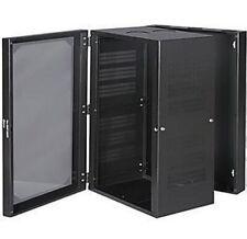 Pack of 2 pcs Side Wallmount Cabinet 2U Black Box RMT355A-R2
