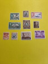 10 British Colonies Stamps Mnh