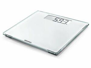 New SOEHNLE Style Sense Comfort 100 Digital Bathroom Scale 180kg White