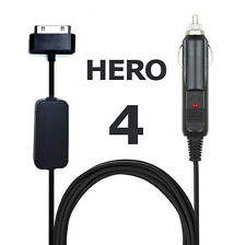 GoPro Hero 4 Camera 12V Power Cord Battery Eliminator Accessory Adapter Cable