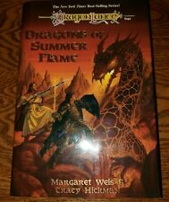 DRAGONLANCE CHRONICLES DRAGONS OF SUMMER FLAME 1ST HB BOOK WEIS HICKMAN