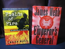 James Webb: Fields of Fire and Emperor's General - Incl. Shipping!!